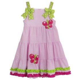 Emily Rose Seersucker Dress