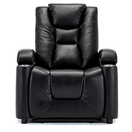 Jackson Power Theater Recliner with Power Adjustable Headrest (Assorted Colors)