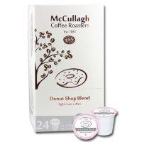 McCullagh Coffee Roasters Donut Shop Light Roast Coffee (96 ct.)