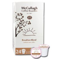 McCullagh Coffee Roasters Breakfast Blend Medium Roast Coffee (96 ct.)