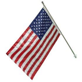 Liberty Flag American Flag Kit 3' X 5' Flag  with 6 'Aluminum Pole