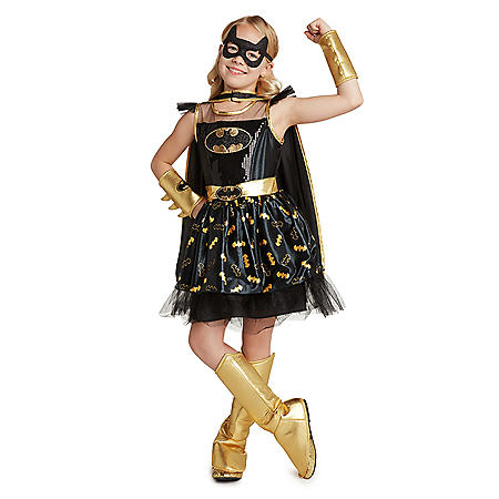 Girl's Superhero Costume (Batgirl, Supergirl and Wonder Woman)