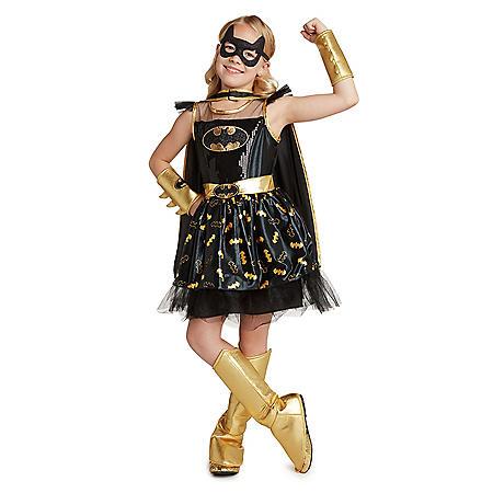 Girl's Superhero Costume (Batgirl, Supergirl and Wonder Woman)
