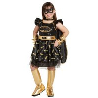 Girls' Superhero Batgirl Costume (Assorted Sizes)