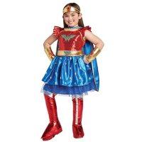 Girls' Superhero Wonder Woman Costume (Assorted Sizes)
