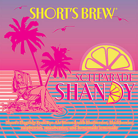 Short's Brew Soft Parade Shandy (12 fl. oz. can, 12 pk.)