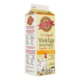 Deb El Liquid Whole Eggs (32 oz.)