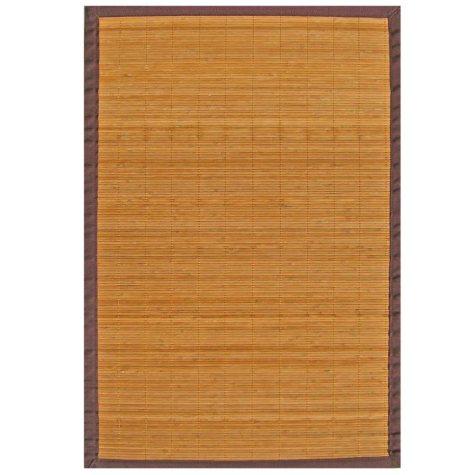 Bamboo Rug - Villager 4 x 6 Natural