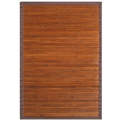 Bamboo Rug - Contemporary Chocolate - 5' x 8'