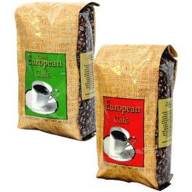 European Café Whole Bean Coffee Assorted Flavors (40 oz.)