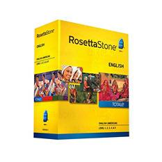 Rosetta Stone English Level 1-5 Set - PC/Mac