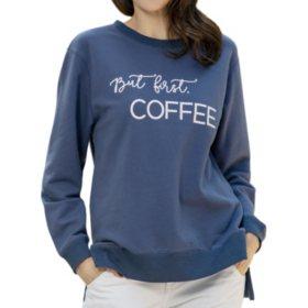 Green Tea Ladies Statement Sweatshirt