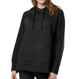 Green Tea Women's Quilted Pullover
