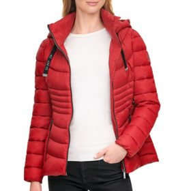 DKNY Ladies Short Packable Jacket