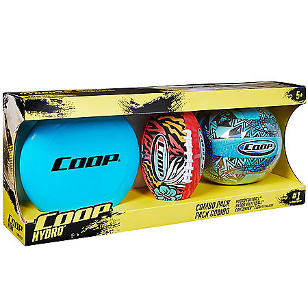 Coop 3-Pack Ball Set