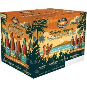 Kona Island Hopper Variety Pack Ale (12 fl. oz. bottle, 12 pk.)