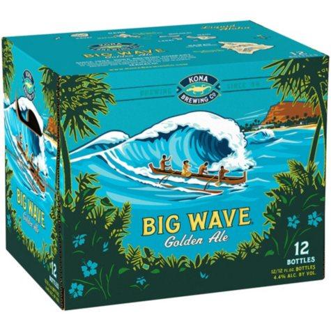 Kona Big Wave Golden Ale (12 fl. oz bottle, 12 pk.)