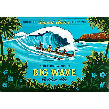 Kona Big Wave Golden Ale (12 fl. oz. can, 12 pk.)