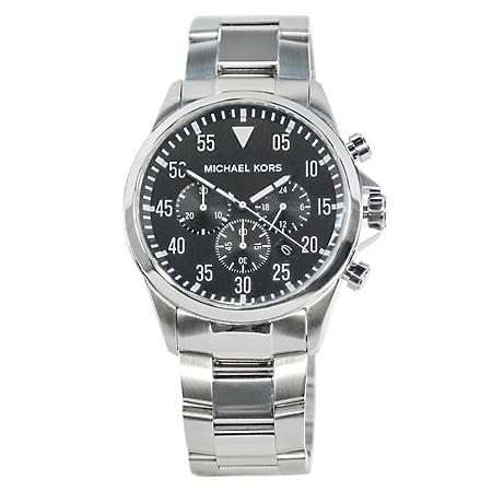 42c7591c3cfe Men s Gage Silver Tone Stainless Steel Watch by Michael Kors - Sam s ...