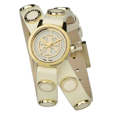 c04d47078 Women's Reva Mini Studded Double Wrap Watch by Tory Burch - Sam's Club