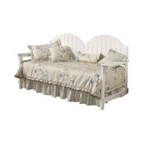 Cinqefoil Daybed w/ Trundle - White