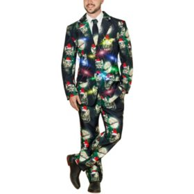 Life of The Party LED Light Up 3-Piece Holiday Party Suit
