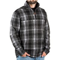 Deals on John Wayne Wooly Fleece Plaid Pullover