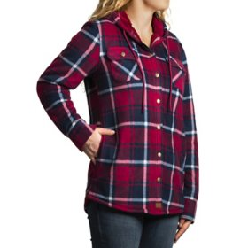 Willow & Pine Women's Fleece Shirt Jacket