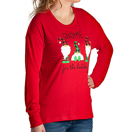 Modern Canvas Ladies Holiday Top