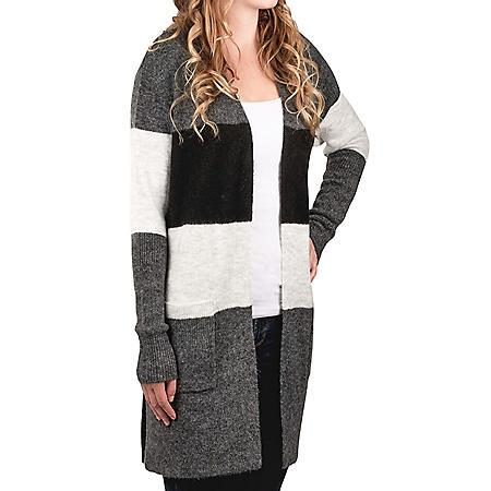 Modern Canvas Women's Long Cardigan Sweater