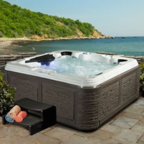 hot tub hook up electrical