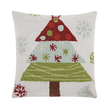 Nourison Christmas Tree Decorative Pillow