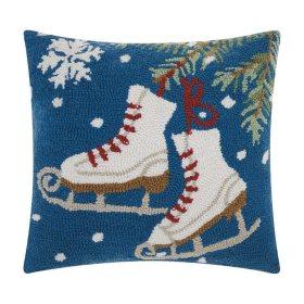 Nourison Ice Skates Decorative Pillow