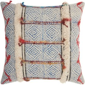Mina Victory Life Styles Textured Woven Decorative Pillows (Assorted Styles)