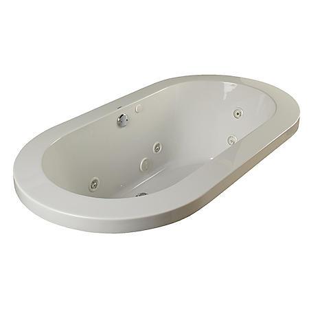 Clarke Oval 6 Whirlpool Tub