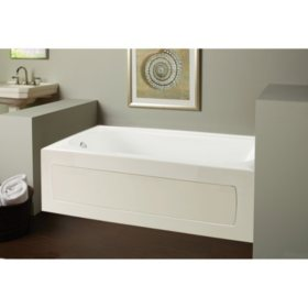 Clarke Vision Tub - Left Skirted - 60""