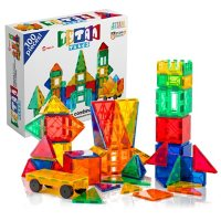 Tytan Magnetic Learning Tiles Building Set with 100 Pieces Deals