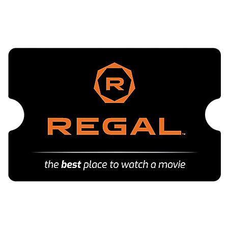 Regal Cinemas eGift Card - Various Amounts (Email Delivery) - Sam's Club