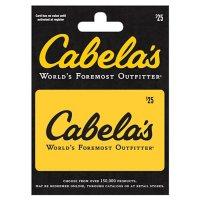 Cabelas $25 Value Gift Card