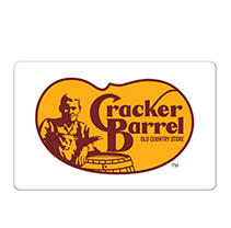 Cracker Barrel Old Country Store® $25 eGift Card - (Email Delivery)
