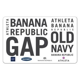 GAP Options $25 eGift Card (Email delivery)