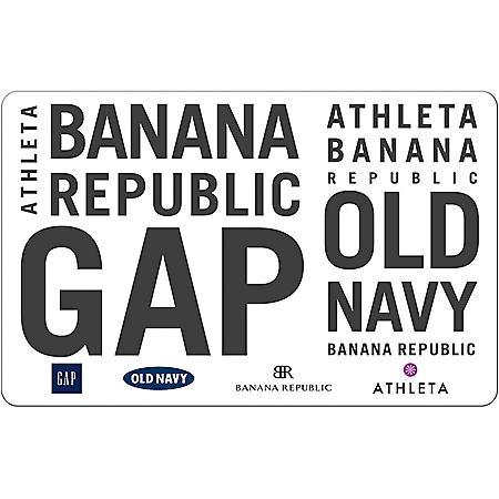 Gap $50 eGift Card (Email Delivery)