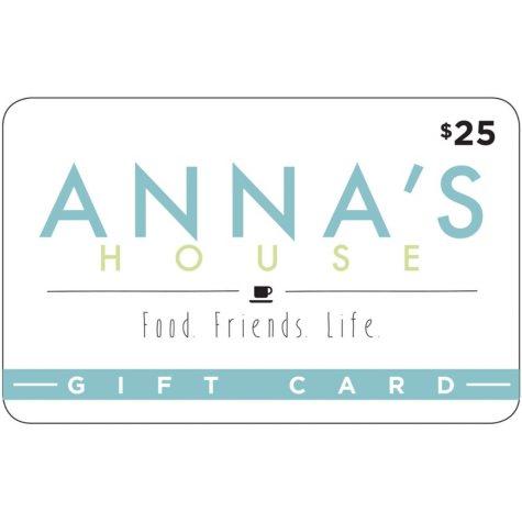 Anna's House - 2 x $25