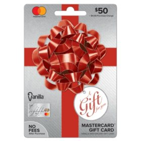 Vanilla Mastercard Party Bow $50 Gift Card