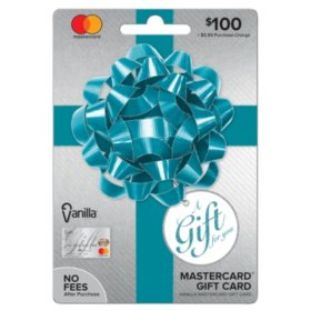 Vanilla® Mastercard® Party Bow $100 Gift Card