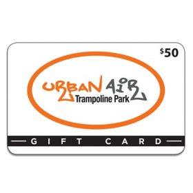 Urban Air Trampoline Park $50 Gift Card