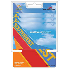 Southwest Airlines $150 Multi-Pack - 3/$50 Gift Cards