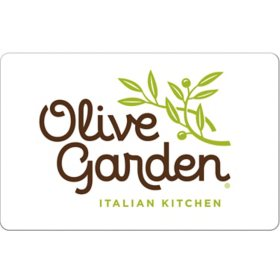 Olive Garden eGift Card -Various Amounts (Email Delivery)