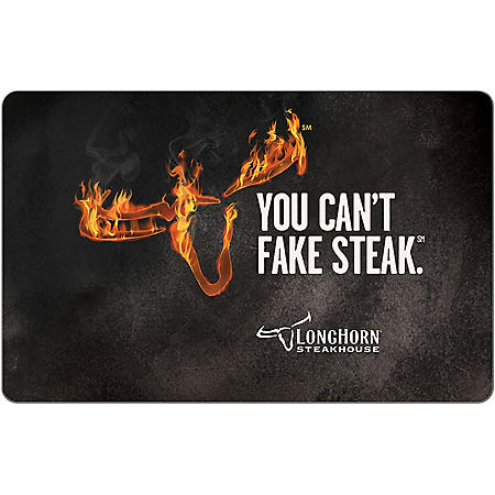 LongHorn Steakhouse eGift Card -Various Amounts (Email Delivery)