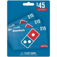 Domino's $45 Value Gift Cards - 3 x $15